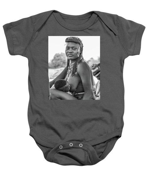 Zemba Mother And Child Baby Onesie