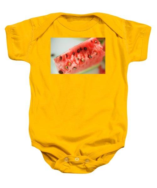 A Piece Of Watermelon Baby Onesie