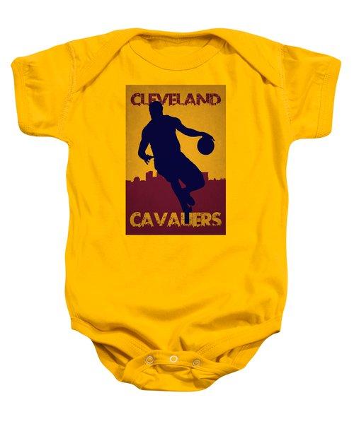 Cleveland Cavaliers Lebron James Baby Onesie