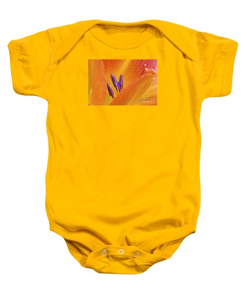 Day Lily  2 Baby Onesie