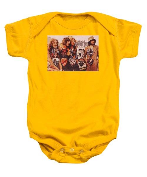Led Zeppelin Art Baby Onesie