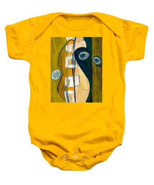 Portrait Of A Humble Man Baby Onesie