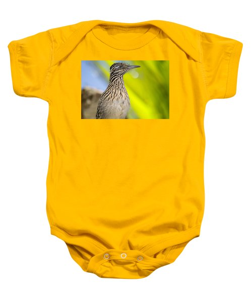 The Roadrunner  Baby Onesie by Saija  Lehtonen