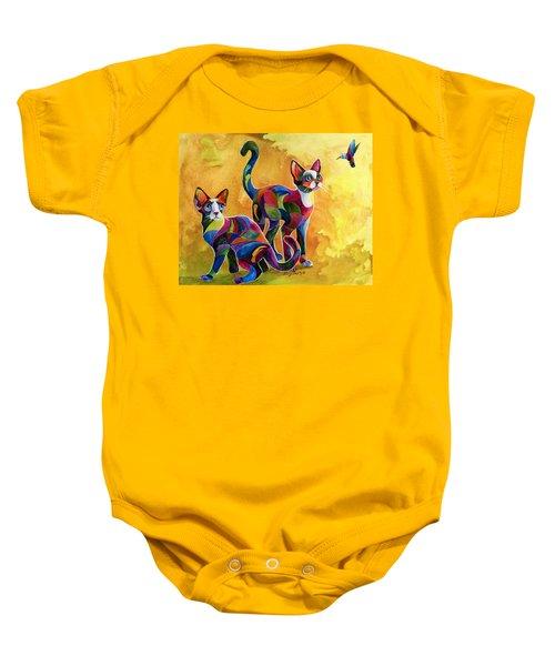 Watch The Birdie Baby Onesie