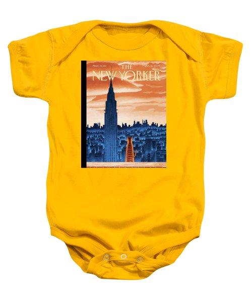 New Yorker January 12th, 2009 Baby Onesie