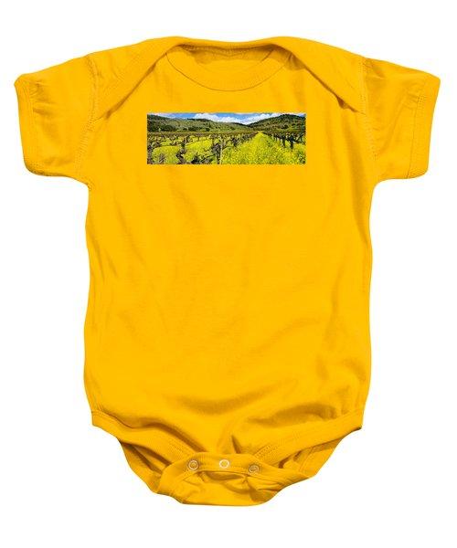 Agriculture - Wine Grape Vineyard Baby Onesie