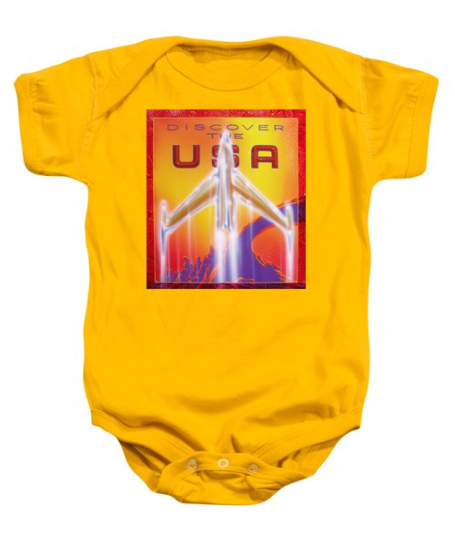 Discover The Usa Baby Onesie