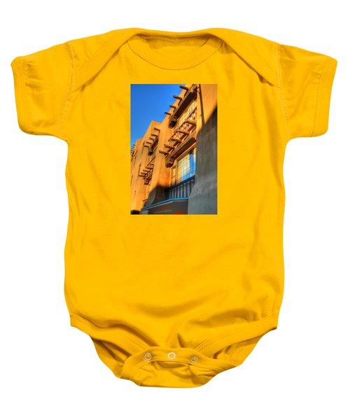 Downtown Santa Fe Baby Onesie