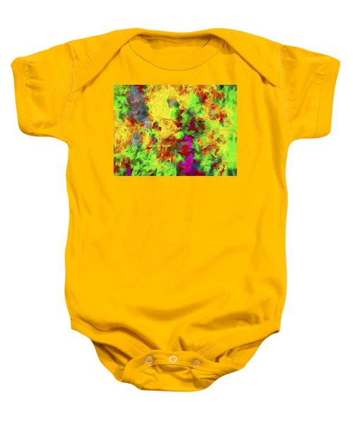 Abstract Arwork 11 Baby Onesie