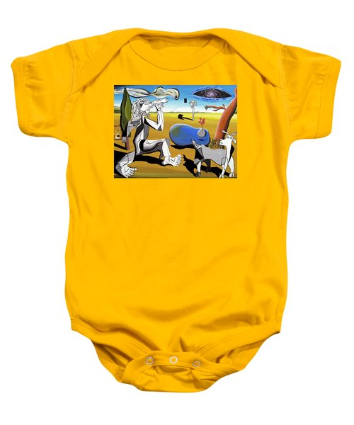 Abstract Surrealism Baby Onesie