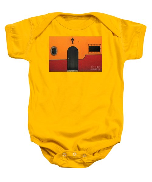 Ajijic Door No.4 Baby Onesie