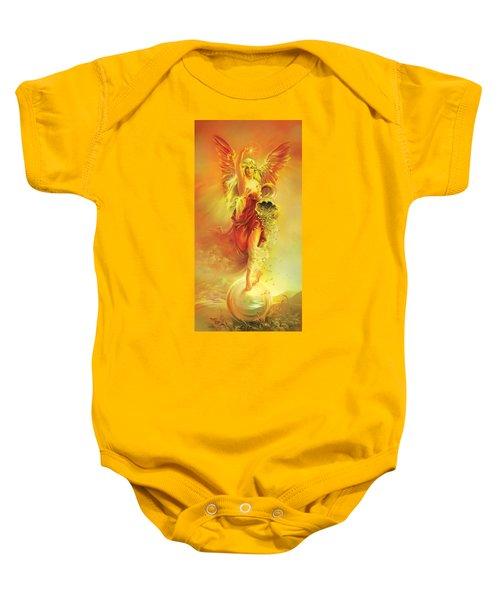 Angel Of Abundance - Fortuna Baby Onesie