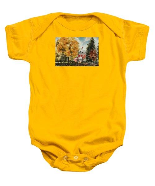 Antebellum Autumn Ironton Missouri Baby Onesie