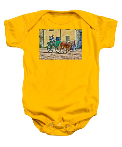 At The Blacksmiths Baby Onesie