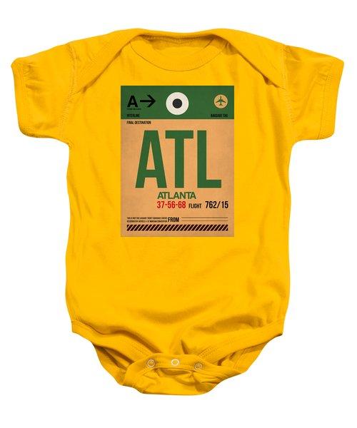 Atlanta Airport Poster 1 Baby Onesie