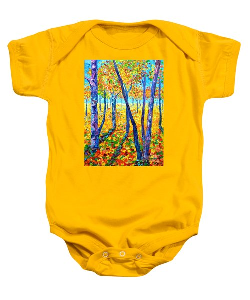Autumn Colors Baby Onesie