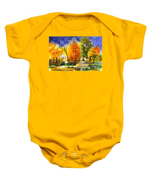 Autumn Gold 2 Baby Onesie