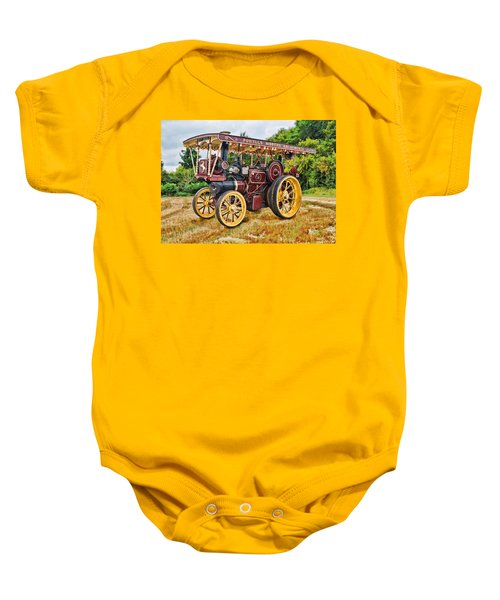 Aveling And Porter Showmans Tractor Baby Onesie