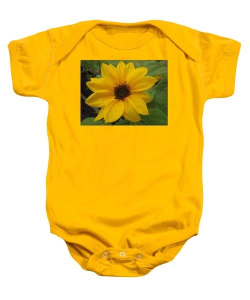 Baby Sunflower Baby Onesie