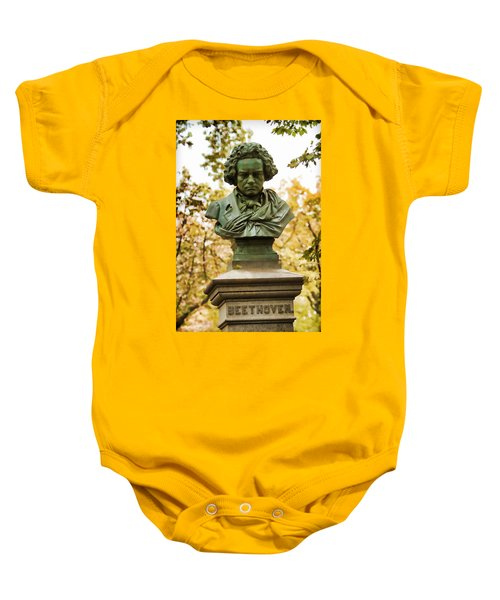 Beethoven In Central Park Baby Onesie