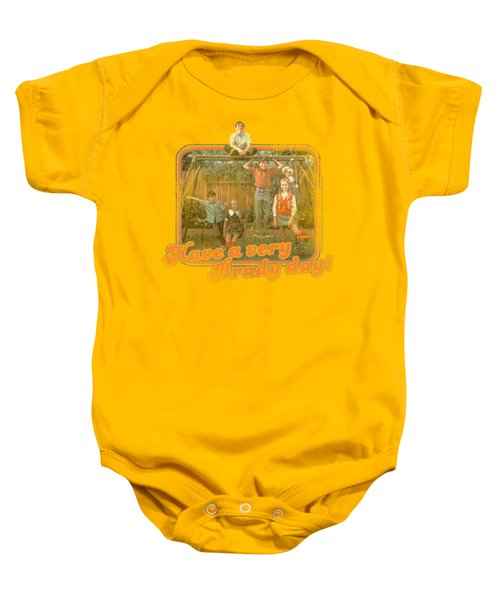 Brady Bunch - Have A Very Brady Day! Baby Onesie