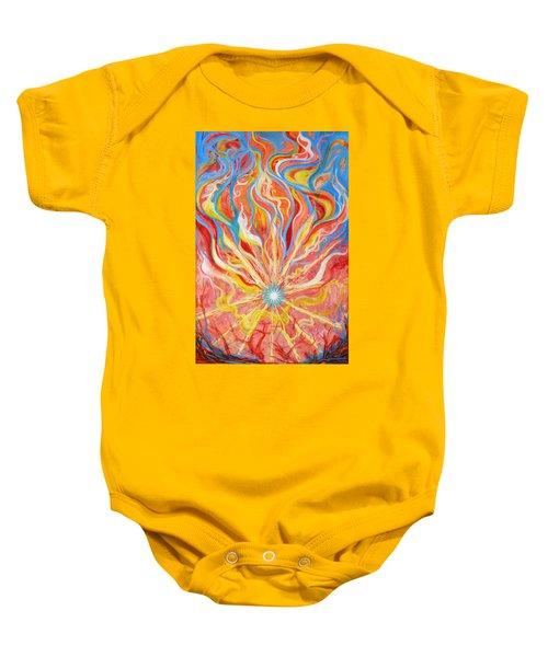 Burning Bush Baby Onesie