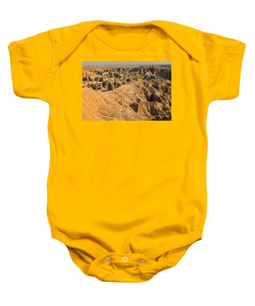 Burns Basin Overlook Badlands National Park Baby Onesie
