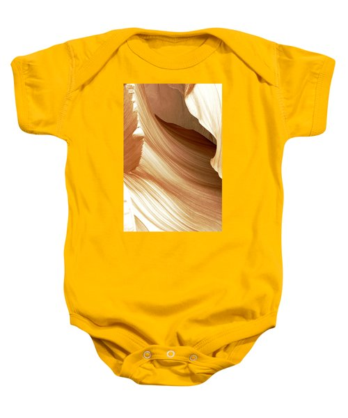 Butterscotch Taffy Antelope Canyon Baby Onesie