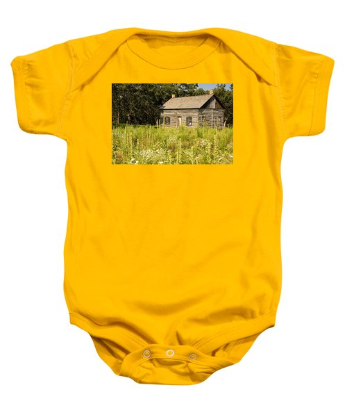 Cabin In The Prairie Baby Onesie
