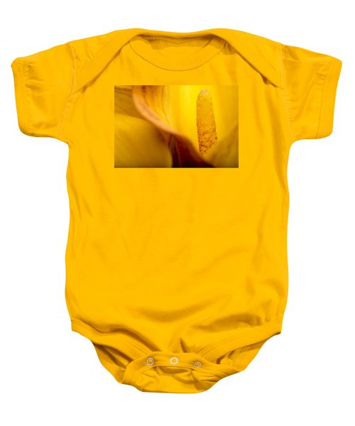 Baby Onesie featuring the photograph Calla Lily by Sebastian Musial