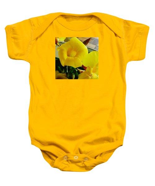 Canario Flower Baby Onesie