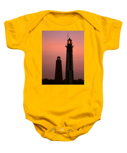 Cape Henry Lighthouses  Baby Onesie