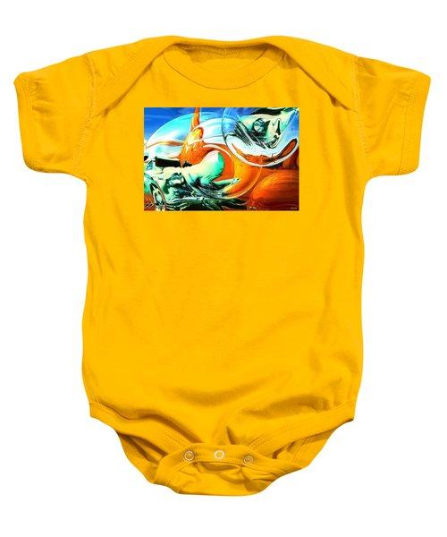 Car Fandango - Modern Art Baby Onesie