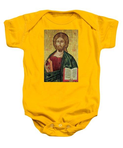 Christ Pantocrator Baby Onesie