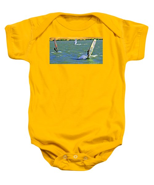 Coming And Going Baby Onesie