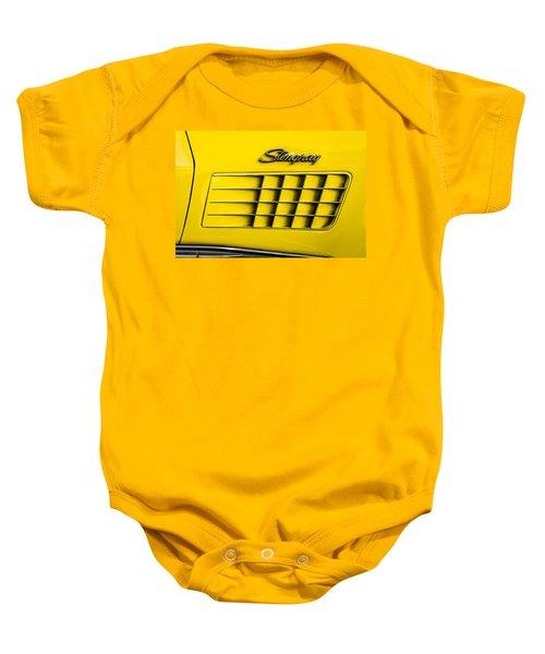 Corvette Gills Baby Onesie