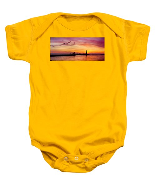 Dawn Of Promise Baby Onesie by Bill Pevlor