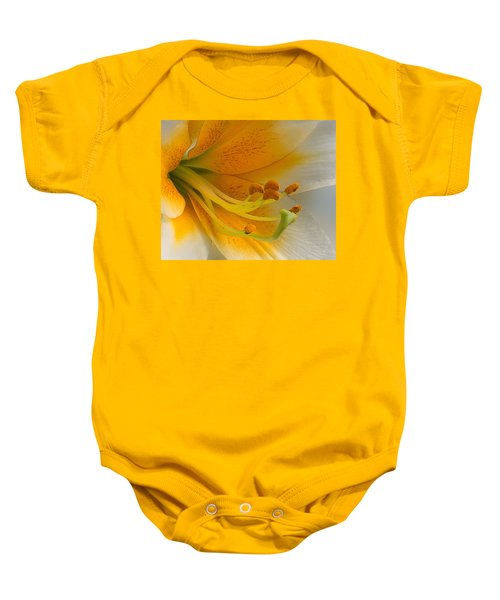 Gold Daylily Close-up Baby Onesie