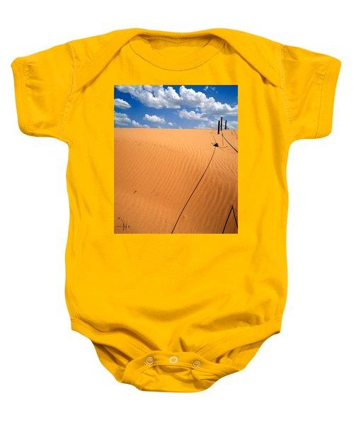 Dunes And Clouds Baby Onesie