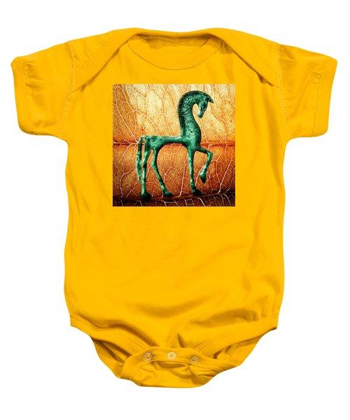 Etruscan Horse Baby Onesie