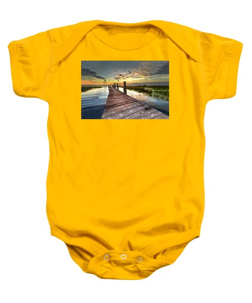 Evening Dock Baby Onesie