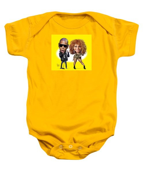 First Couple Baby Onesie