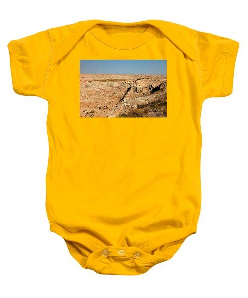 Fossil Exhibit Trail Badlands National Park Baby Onesie