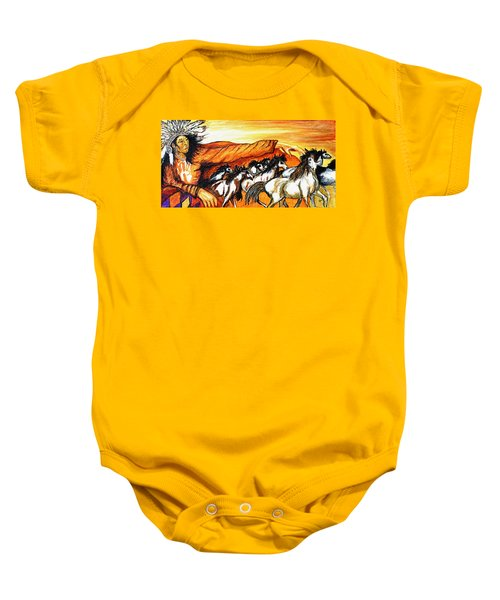 Gift Of The Pinto Baby Onesie
