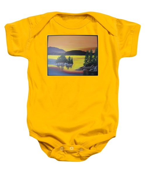 Glorious Sunrise Baby Onesie
