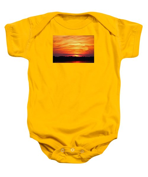 God Paints The Sky Baby Onesie