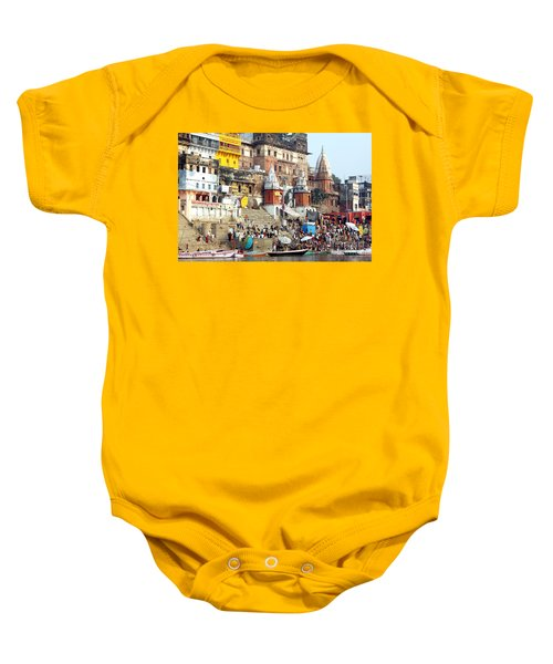 Good Morning Ganga Ji 2 Baby Onesie