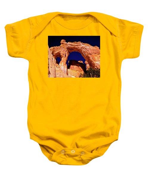 Grosvenor Arch Sunset Kodachrome Basin Baby Onesie
