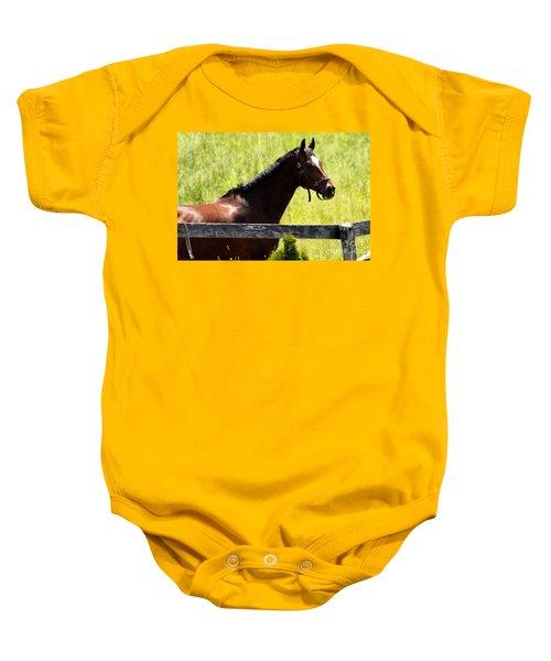 Handsom Horse Baby Onesie