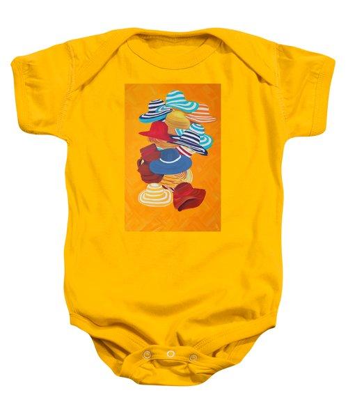 Hats Off Baby Onesie